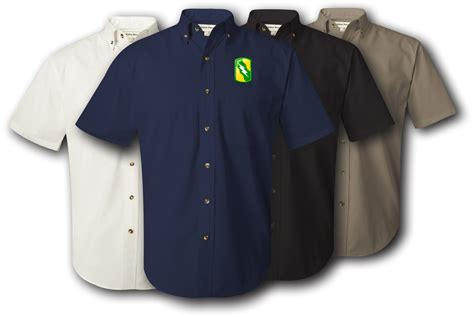 T Shirt 155th 155th armored brigade twill button shirt