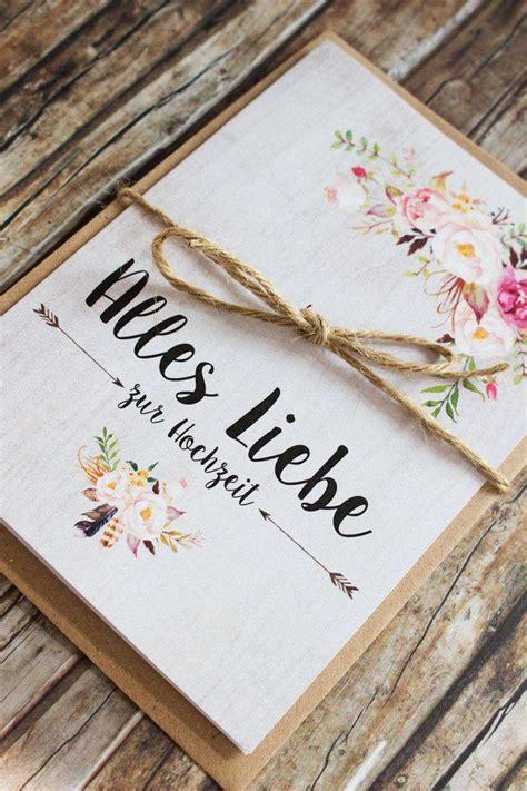 Hochzeitsmappe Kaufen by Best 25 Gl 252 Ckwunschkarte Hochzeit Ideas On