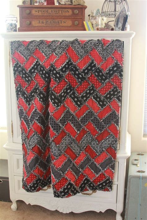 zig zag rag quilt pattern 98 best images about rag quilt patterns on pinterest