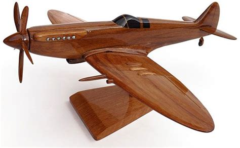 wooden model spitfire plane wood toys pinterest