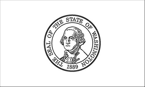 Washington State Flag Coloring Page washington flag coloring page purple