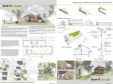 poster page layout i like the sheet layout here architectural models