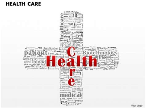 health care word cloud powerpoint  template powerpoint templates backgrounds