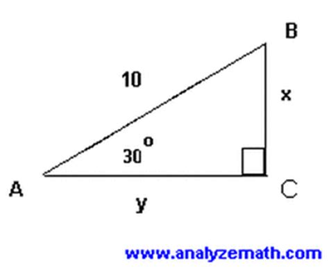 trigonometry honors geometrychapter 7: right triangles