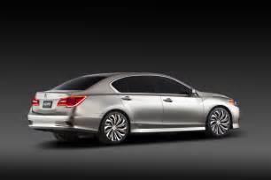 Acura Image All New 2014 Acura Rlx Sedan Will Hybrid Power With