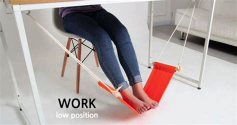 foot hammock for desk work in your office like a boss with this foot hammock