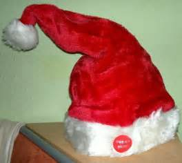 singing dancing santa hat xmas hat santa hat merry