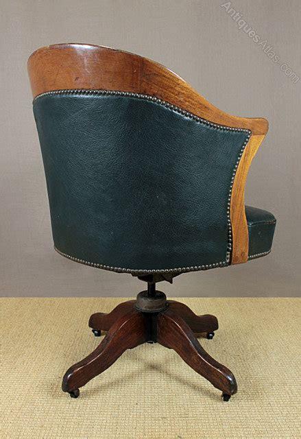 vintage leather desk chair vintage leather desk chair antiques atlas