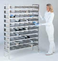 Gowning Bench Bootie Racks For Gowning Rooms And Cleanrooms