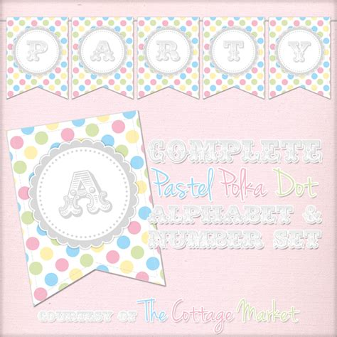 printable number line banner free printable complete alphabet and number cottage banner