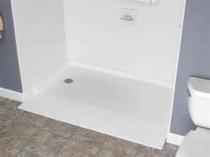 Shower With Bath Base barrier free shower base peoria accessibility products