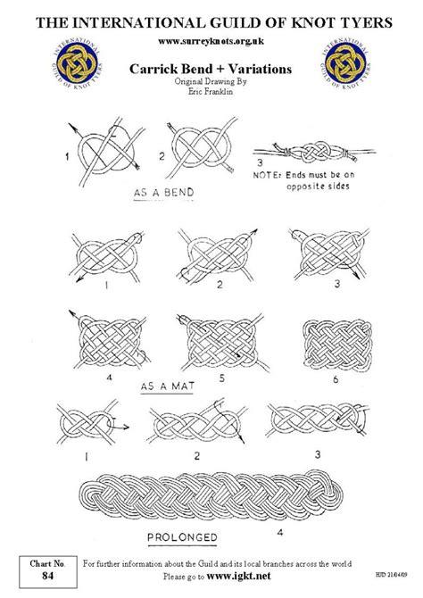 International Guild of Knot Tyers   Surrey Branch   84 Carrick Bend