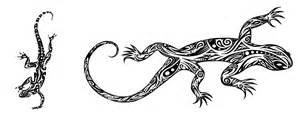 Unique Small Home Designs 8 polynesian lizard tattoos everything about tattoos