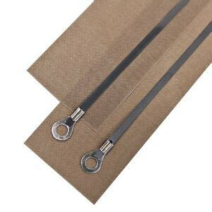 mm impulse sealer heat wire element teflon tapes  heat sealing machines ebay