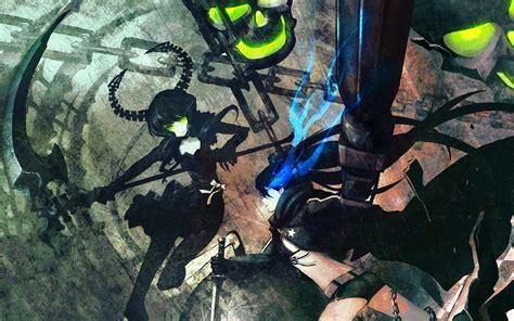 V Anime Rocks by Black Rock Shooter Hd Wallpaper Background Image