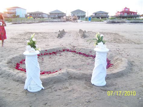 galveston tx beach weddings   Surfside, Texas Beach Front
