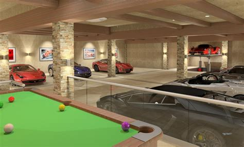 luxury garage underground car garage thalia and omari s home