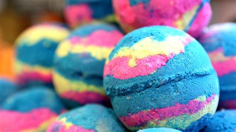 lush bathrooms lush bath bomb see how it s made from start to finish