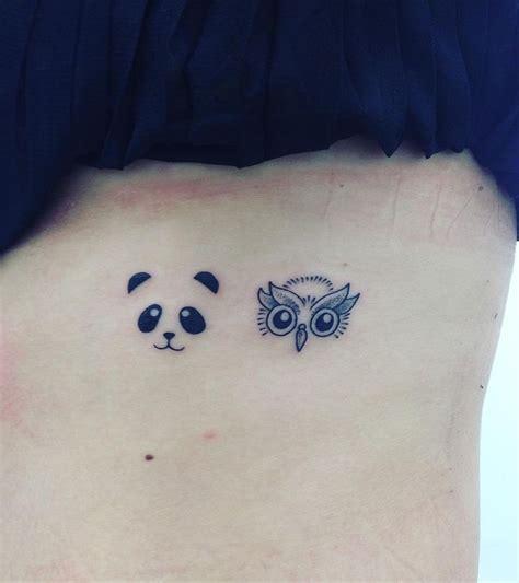 panda elephant tattoo panda on my butt tattoo