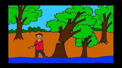 animasi pohon sial youtube