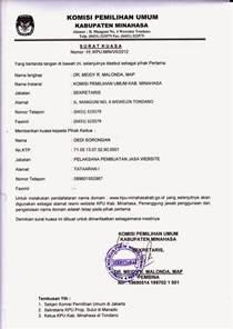 contoh surat kuasa terbaru wisata dan info sumbar