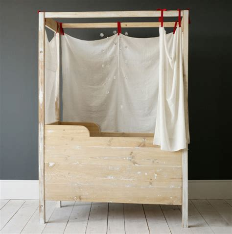 Handmade Toddler Bed - these handmade cribs are a family affair handmade