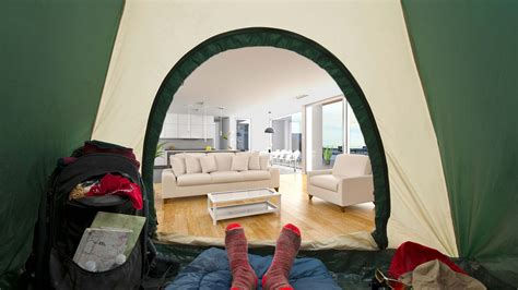 Living Room Tent 6 Survival Tips For Living In A Staged Home