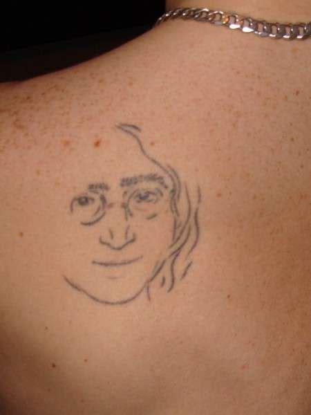 john lennon tattoo lennon