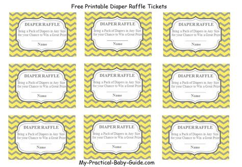 fun printable raffle tickets 1000 images about baby shower printable games on