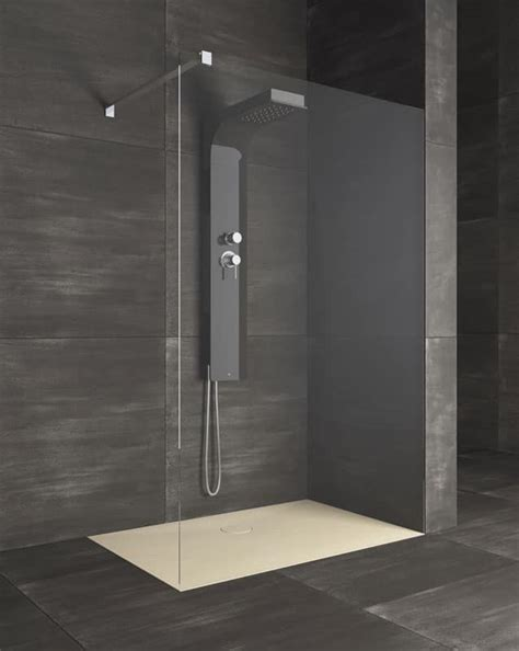 box doccia lineare piatto per doccia stile lineare per bagno hotel idfdesign