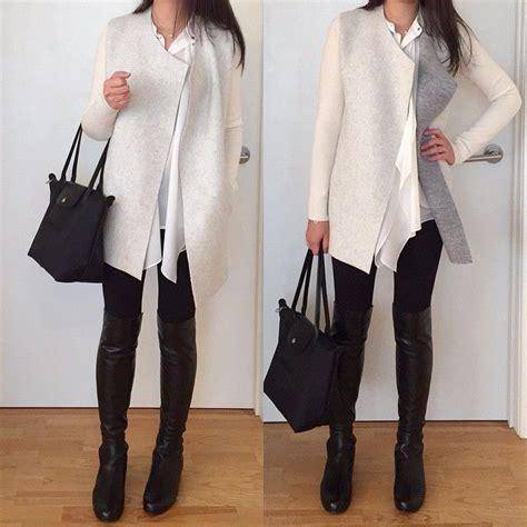 Longch Neo Medium Black loft merino wool open sweater jacket and h m