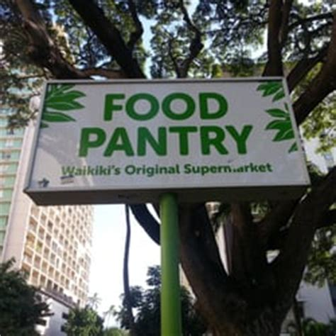 Food Pantry Ltd by Food Pantry Ltd Waikiki Honolulu Hi United States Yelp