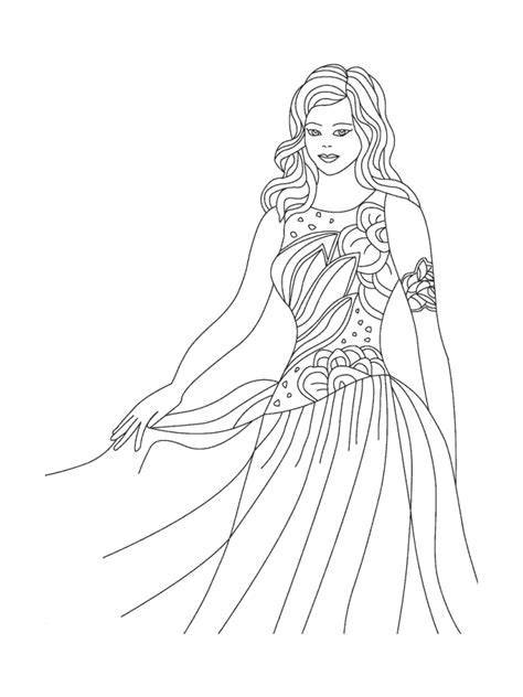 fashion coloring page az coloring pages