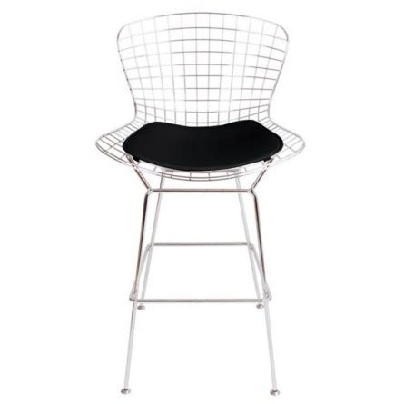 Bertoia Bar Stool Black by Bertoia Wire Bar Stool Replica Pash Classics