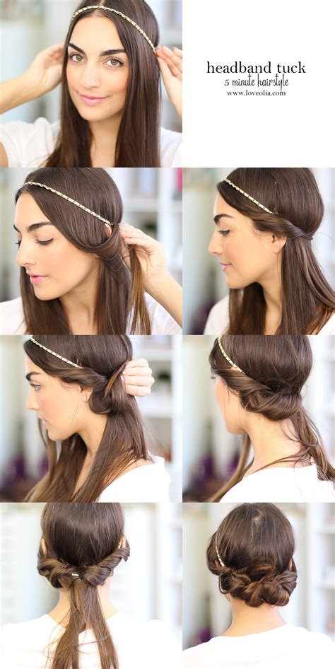 diy 1920s flapper hairstyles diy cupcake holders headband tuck hair tuck and shorts