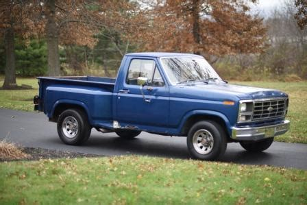 80 Ford Truck 80 Ford F150 Truck Bed Step Side Clean Runs