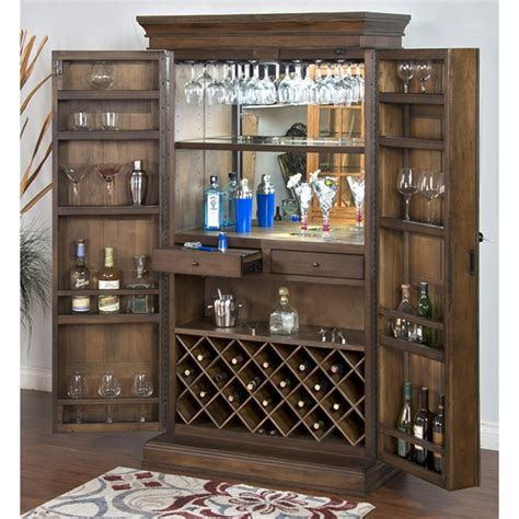 armoire bar savannah bar armoire
