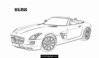 Mercedes Car Coloring Pages Printable Sketch Page sketch template