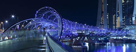helix bridge helix bridge cox architecture with architects 61 archdaily