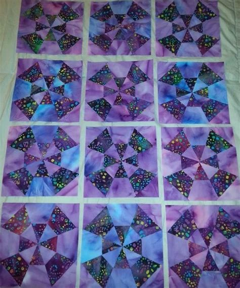 Kaleidoscope Patchwork Quilt Pattern - 107 best caleidoscopio patchwork images on