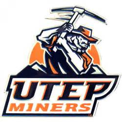 utep colors utep miners colored aluminum car auto emblem
