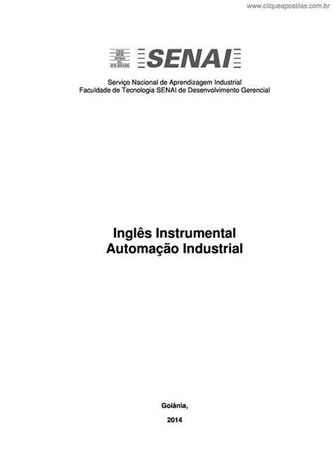 Clique Apostilas - Inglês Instrumental Automação Industrial