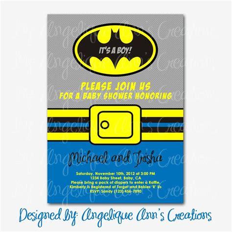 Batman Baby Shower Invitations by Batman Baby Shower Invitations Related Keywords Batman