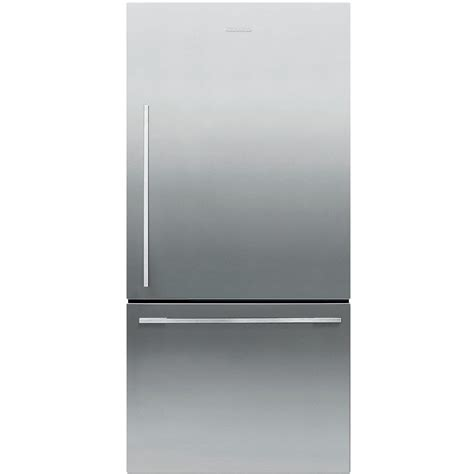 cabinet depth refrigerator bottom freezer fisher paykel 17 1 cu ft bottom freezer counter depth