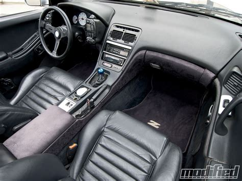 nissan 1990 interior 1990 nissan 300zx one fair modified magazine