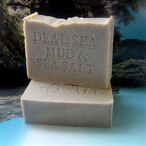 Handcrafted Soaps - dead sea mud soap handcrafted handmade soap