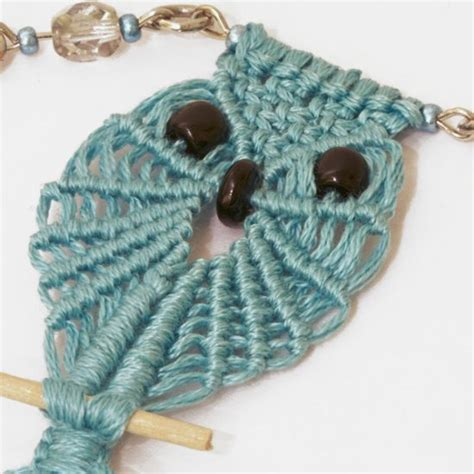 Free Macrame Projects - 12 macrame owl patterns guide patterns