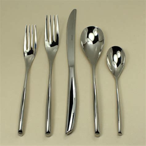 modern flatware sets bamboo stainless steel flatware contemporary flatware