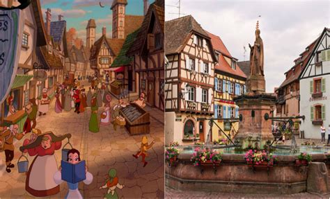 beauty and the beast town breathtaking real life locations that inspired disney movies