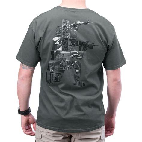 t shirt 5 11 5 11 tactical high low logo mens t shirt graphic top